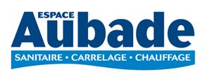 Logo Aubade fournisseur plombier montpellier